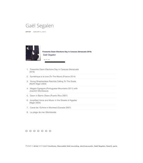 GSegaln On Sonospace
