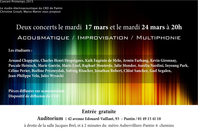 Concert Octo PAntin electroacoustique OK