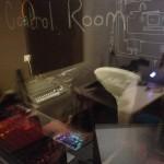 Gael Segalen at Bruit Brut studio Asso Apo 33